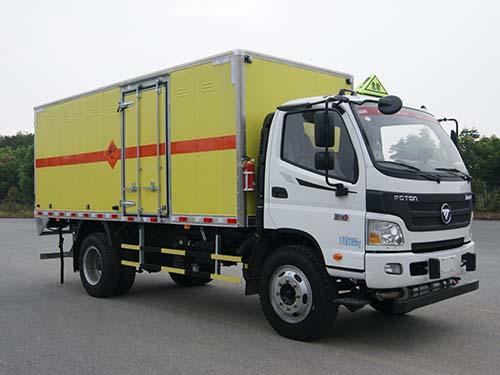 福田欧马可7吨炸药车(国五)